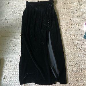 Velvet VTG Slip Leg Skirt